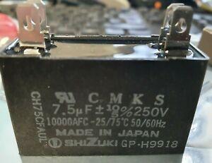 NEW SHIZUKI CH75CFAUL CAPACITOR 7.5 UF 250 VAC for Oriental Motor