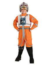 "Star Wars Costume, Kids X-Wing Pilot Outfit, Large, Age 8-10, HEIGHT 4' 8"" - 5'"