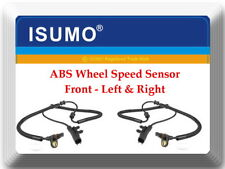 2 ABS Wheel Speed Sensor ALS1916 Front Left & Right For Dodge Nitro Jeep Liberty