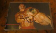 Ivan Putski Pro Wrestling signed autographed photo Polish Power WWF tag team