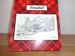 CAMPBELL SCALE MODELS HO SCALE # 357 HO-HOn3 COALING STATION CRAFTSMAN KIT