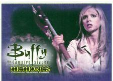 Buffy TVS Memories Promo Card B-i