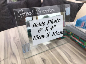 Personalised/Non personalised Great Grandson Picture Photo Frames Land