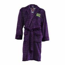 Suicide Squad Joker Bathrone Hoodless Fleece Adult Dressing Gown Robe