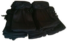 20 black microfiber pouches BULK LOT Distributor Wholesale Pricing Fast Shipping