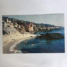 Laguna Beach Southern California Unposted Postcard