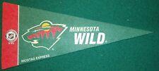 MINNESOTA WILD NHL MINI PENNANT, NEW & MADE IN USA