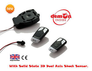 EASY FIT Only  Two Wires Bike Quad Alarm- DIY Installation UK Designed