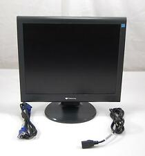 """GRADE A Gateway TFT1780PS+ FPD1765 17"""" Flat Panel TFT LCD Monitor w/ Cables"""