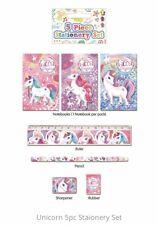 Unicorn Party Supplies. 5 Piece Unicorn Stationery Sets