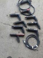 Needle Scaler Pistol Grip Rust Paint Remover Gun Descaler Pneumatic Air Deruster