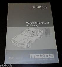 Werkstatthandbuch Mazda Xedos 9 Bremsen, Stand 03/1999
