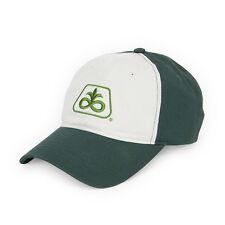 PIONEER SEED *GREEN & WHITE CLASSIC TWILL* LOGO HAT CAP NEW PS56