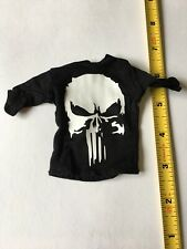 1/6 Scale Dripping Punisher Skull Black T-Shirt