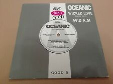 """OCEANIC * WICKED LOVE / AVID A.M.* 7"""" SINGLE P/S EXCELLENT 1991"""
