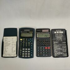 TEXAS INSTRUMENTS TI-30X IIS CASIO FX-300SA SCIENTIFIC CALCULATORS W/ COVERS LOT