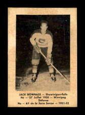1951 Laval Dairy QSHL #61 Jack Bownass  EX+ X1815720