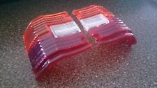 Pair S50 series Crown wagon pick-up tail light lenses MS53 RS53 MS56 RS56