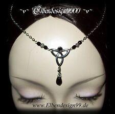 ^v^Stirnschmuck*Black Celtic*Gothic*LARP*circlet*medieval*Tiara*keltisch^v^