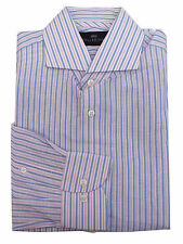 Striped Polyester Formal Shirts for Men
