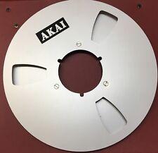 Tonbandspule AKAI Logo ALU NAB 26,5 1/4 Neuwertig