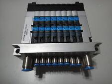 NEW FESTO Valve-Group CPV10 + HW 10P10-8C-CO-N-Y-6C2J+PB