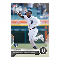 Akil Baddoo - 2021 MLB TOPPS NOW Card 25 Rookie RC debut with a Bang HR first P