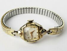 Vintage Ladies Gold Tone Gruen Precision Manual Wind Watch - Working