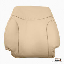 Front Right Lean Back Tan Leather Seat Cover Fits 2002 - 2006 Lexus ES300 ES330