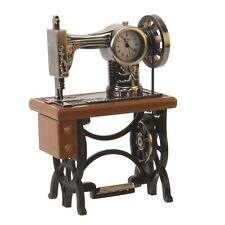 Wm.Widdop Miniature Clock - Sewing Machine