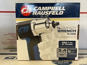 Campbell Hausfeld TL 1402 1/2 Air Impact Wrench New