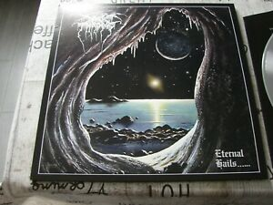 Darkthrone - Eternal Hails - silber Vinyl - LP - Black Metal - Dimmu Borgir