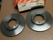 Daihatsu F20 F25 F50 F55 Fourtrak F80 85 Sportrak front brake discs MDC632 pair
