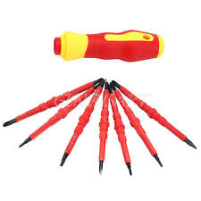 7Pcs Multi-function Precision Insulated Electrical Hand Screwdriver Tools Set