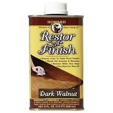 Howard Products Rf6008 Restor-A-Finish, 8 oz, Dark Walnut 8