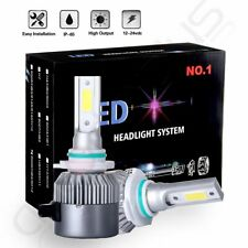 2018 Cree LED Headlight Kit 9006 HB4 9012 740W 6000K 88800LM Fog Bulbs Pair HID