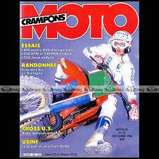 MOTO CRAMPONS N°22 KTM & JAWA 250 ENDURO HUSQVARNA 240 WR RICKY JOHNSON 1986