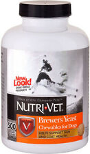 NUTRI-VET - Brewers Yeast with Garlic Chewables - 500 Chewables