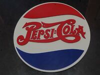 "Vintage 9"" Pepsi Cola Sign Replica 1906 3D Printed Pepsi Co Advertising Soda"