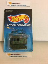 #13 Assault Crawler 3338 GREEN * 1988 Malaysia * Vintage Hot Wheels * g19