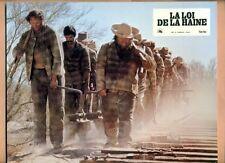LA LOI DE LA HAINE - JEU DE 9 PHOTOS D'EXPLOITATION - HESTON / COBURN / HERSHEY