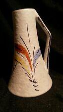50er Jahre kleine Krugvase WILHELM FOHR Keramik 413  12  Dekor Grazia ca. 1958