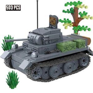 German Tank Blocks Bricks Model World Series Toys Building