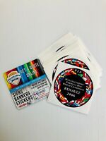 Renault FIA Sticker Badge (Vinyl, Self Adhesive)  Clio Sport Megane 197 200