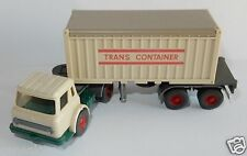 RARE WIKING HO 1/87 IH INTERNATIONAL HARVESTER CONTAINER SZ TRANS CONTAINER