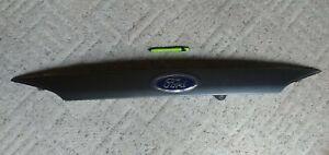 2014 Ford Focus SEDAN Rear Trunk Molding Trim Gray 2012-14 Oem w/Camera & Switch
