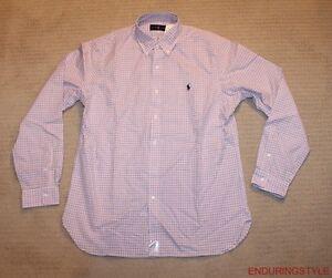 NEW Polo Ralph Lauren Classic Pony Dress Shirt 16.5 17