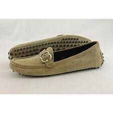 Gucci Flat (0 to 1/2 in.) Suede Shoes for Women