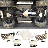 Practical Chassis Axle Protector For 1/10 Traxxas TRX-4 Racing RC Car Silver