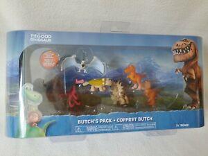 Good Dinosaur Butch's Pack of 6 Mini Figures Tomy Exclusive Jack & Lurleane